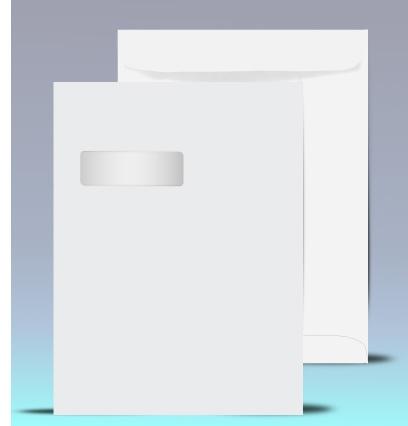 9 x 12 Catalog Window Envelopes, # 21040