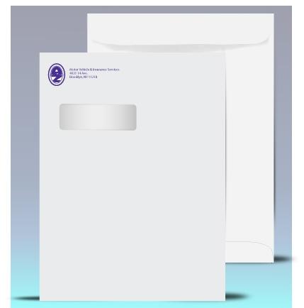 X Catalog Window Envelopes PMS Color Different Color Than - 9x12 booklet envelope template